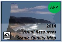 Visual Resources Scenic Quality Map Application Thumbnail